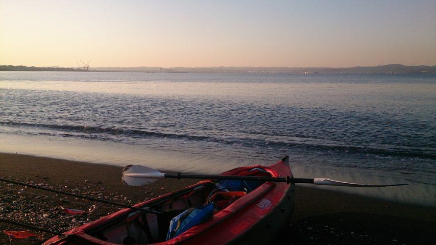 千葉(南房総)の春の海でカヤックフィッシング